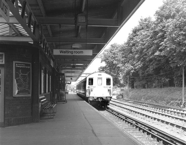 Brockenhurst station, Hampshire