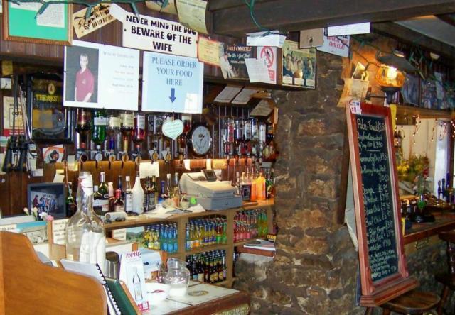 The bar, Tan Hill Inn