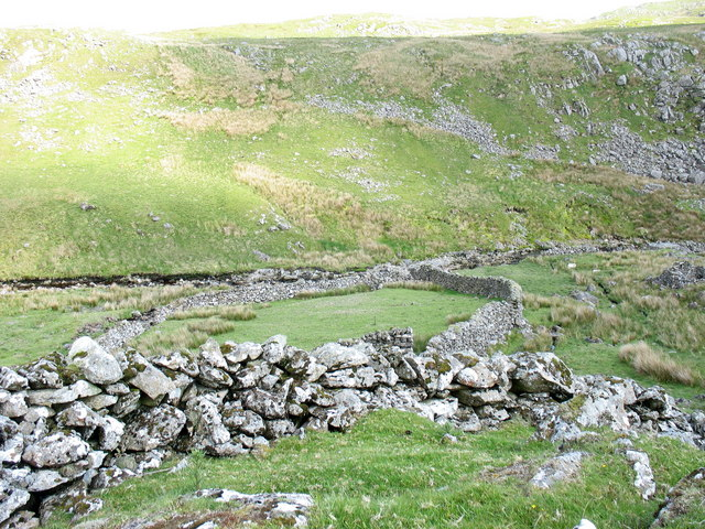 Sheepfold above the Mawddach