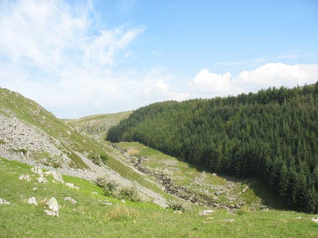 The Mawddach chasm