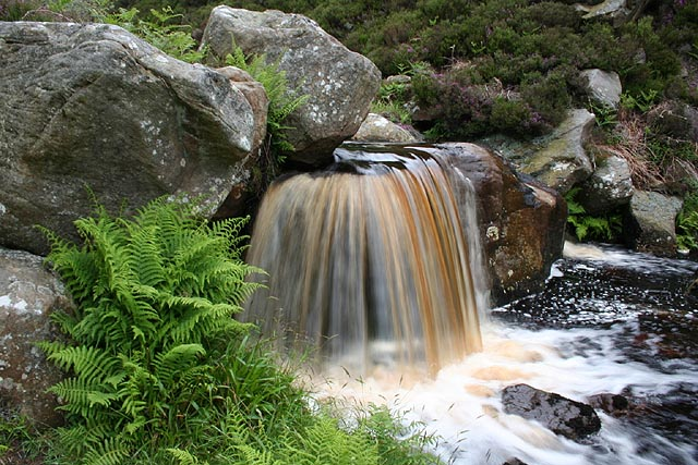 Waterfall, Harehope Burn