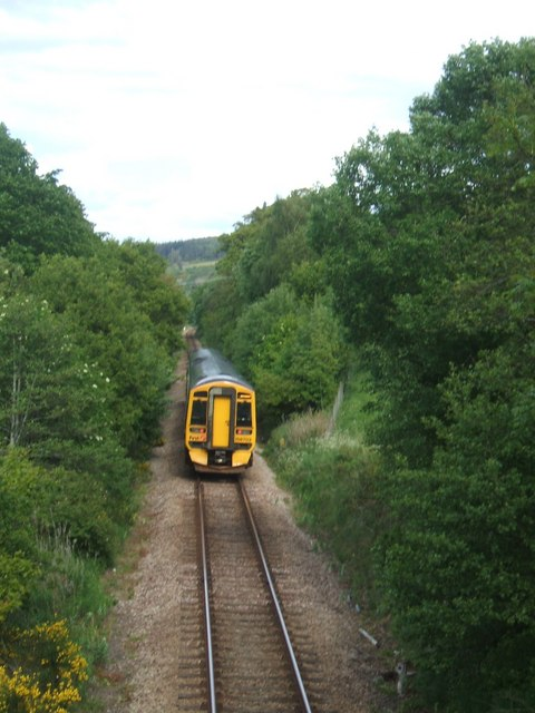 Dingwall to Inverness train