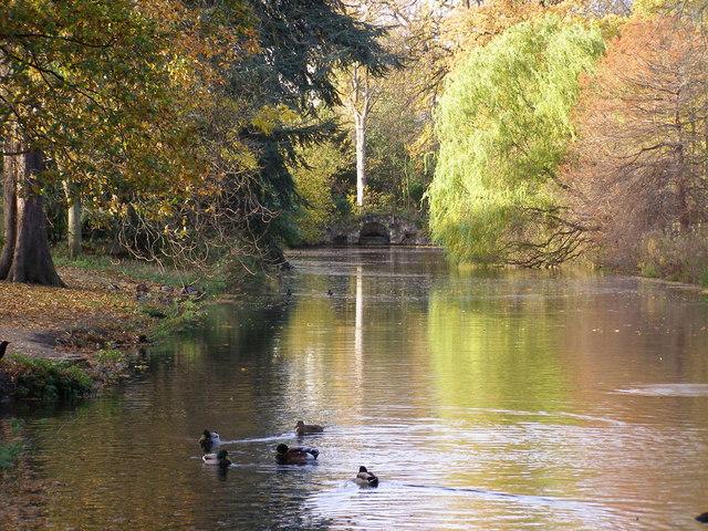 Valentines Park - upper lake