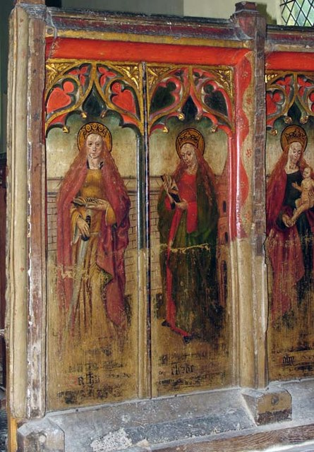 St Mary, Wiggenhall St Mary, Norfolk - Screen