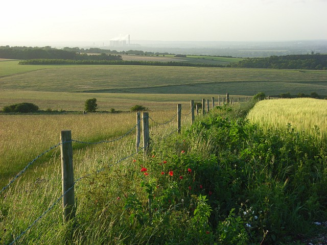 View from Lowbury Hill