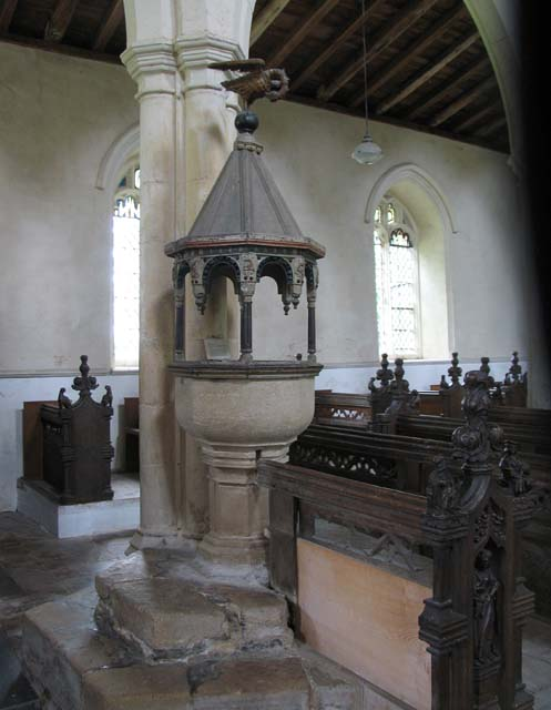 St Mary, Wiggenhall St Mary, Norfolk - Font