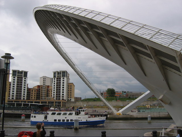 Millennium Bridge, North Pier