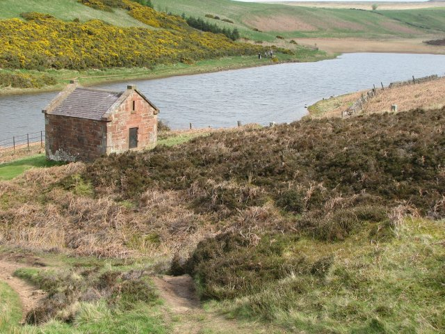 Pump house, Threipmuir