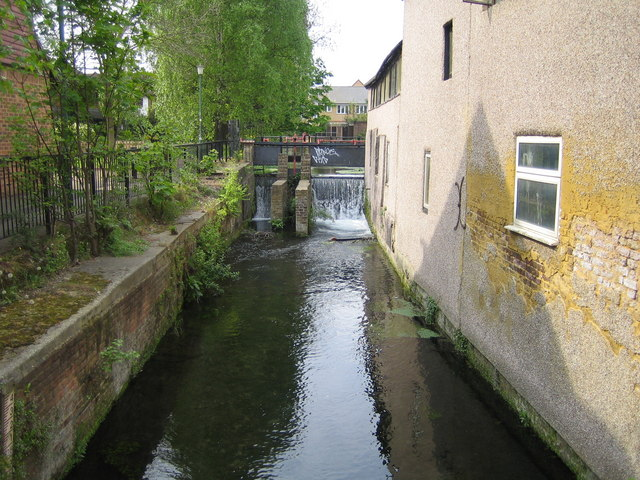 River Wandle in Carshalton