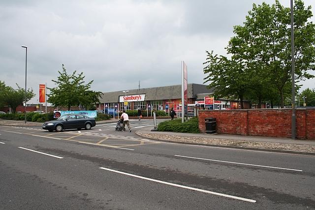 Sainsbury's, North End