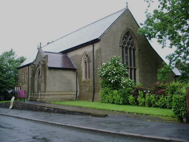 The Parish Church of St Peter, Laneside, Haslingden