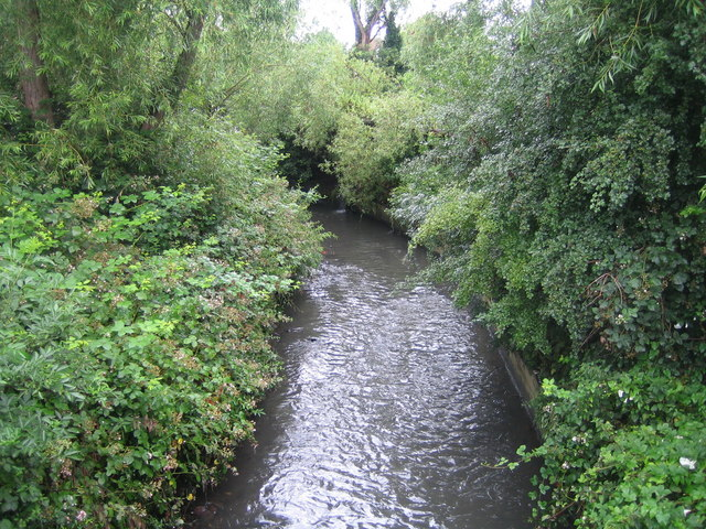 Wealdstone Brook in Kenton