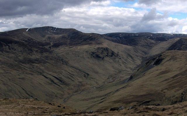 Ridge North of Creag Lamhaich