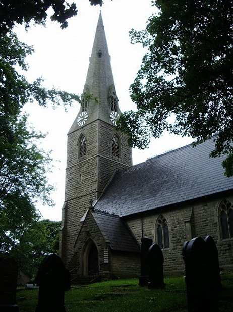 The Parish Church of St Thomas Musbury, Haslingden