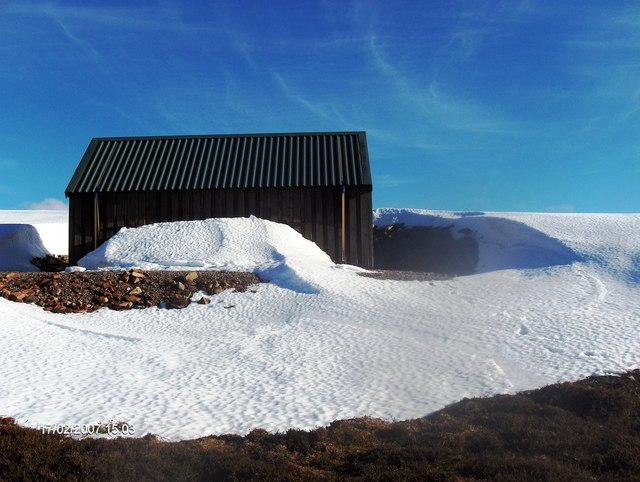 Shed NW of Carn Mor