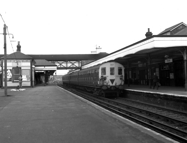 Hove Station in British Rail days