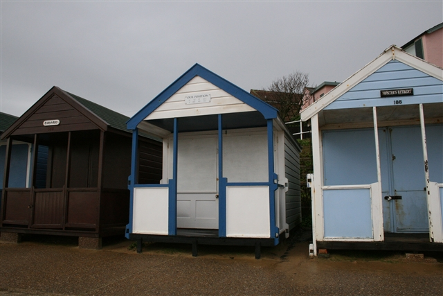 Geolocated beach hut, Southwold