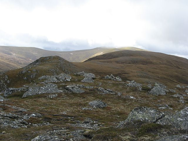 North ridge of Sgurr na Ruaidhe