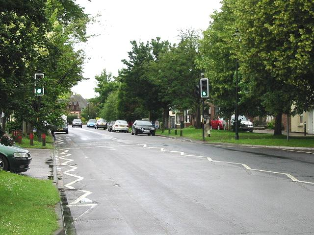 Looking N along Wingham High Street