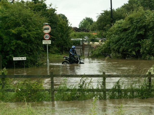 Motor Cycle at Swallow Hill Road