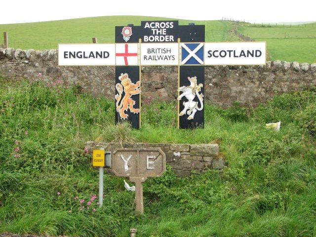 England / Scotland border