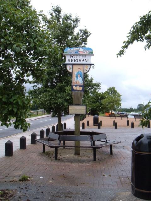 Potter Heigham village sign