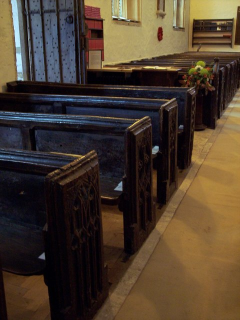 St Andrew's Church, Trent - Interior