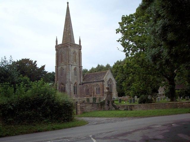 St Andrew's Church, Trent