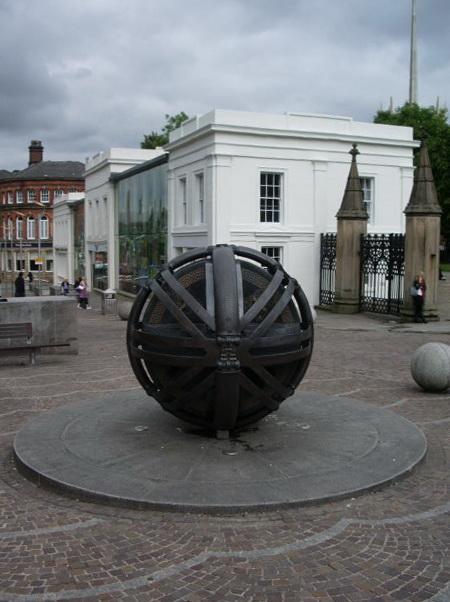 Sculpture, Church Street, Blackburn