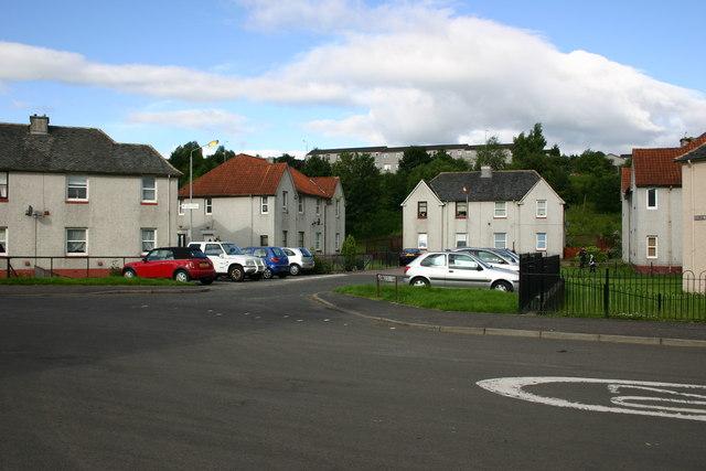 George Street Lane. Bonhill.