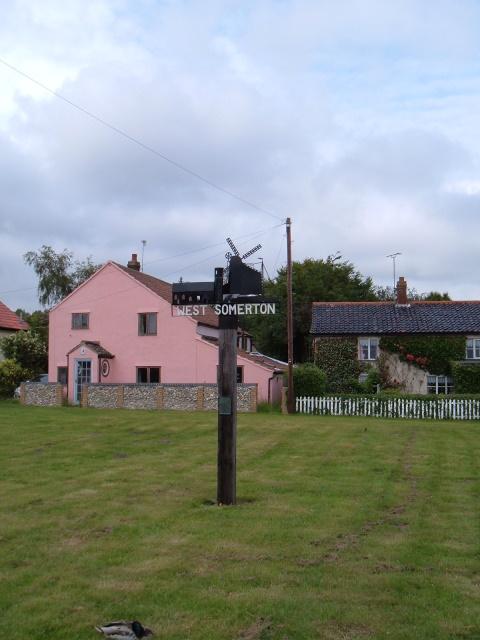 West Somerton village sign