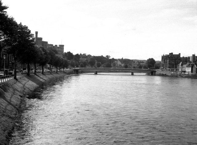 Inverness: the river and the castle
