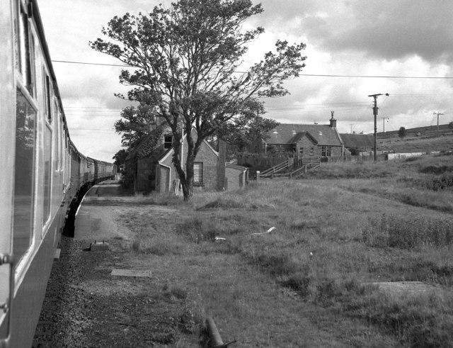 Kinbrace station