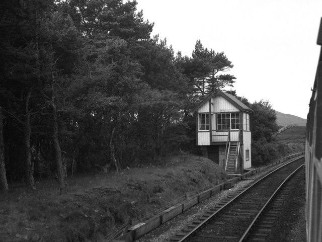 Signal box, Forsinard, Scotland