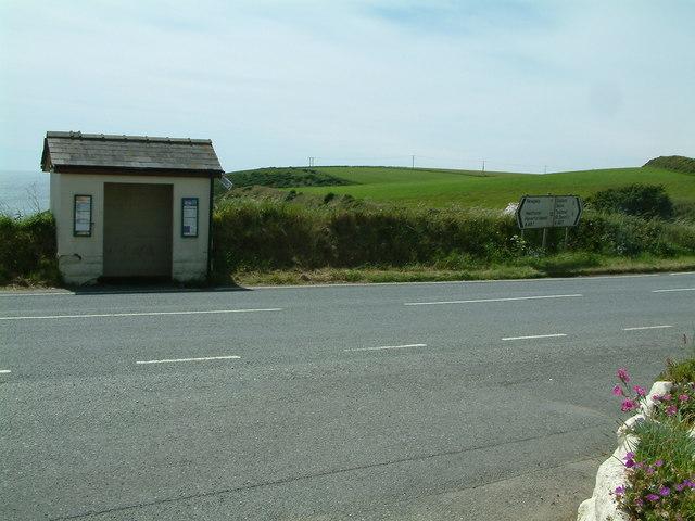 Bus shelter, Penycwm, Pembrokeshire