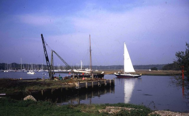 Quay at Bucklers Hard