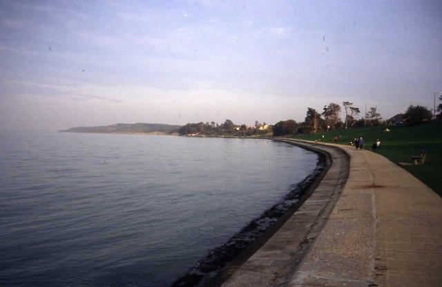 Sea front at Yarmouth