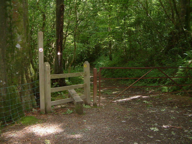 Stile and footpath, Nr. Gignog, Pembrokeshire