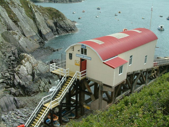 St. Justinian lifeboat station, Pembrokeshire