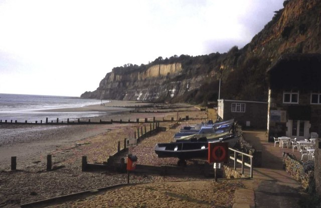 Shanklin Beach at Appley Steps