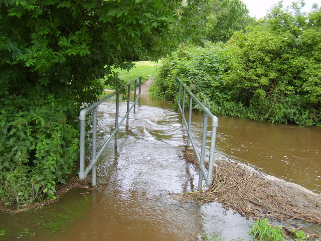 Flooded Footbridge