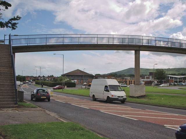 Footbridge over Normanby Road