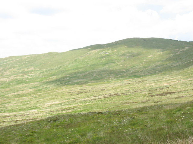 Cwm Canol and the western slopes of Moel y Feidiog