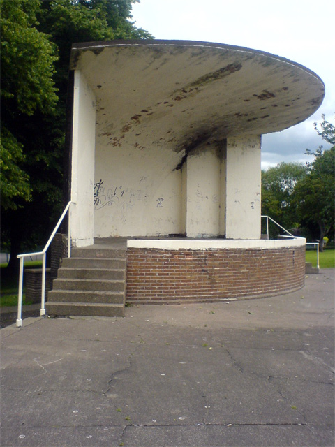 Mansfield Woodhouse Bandstand