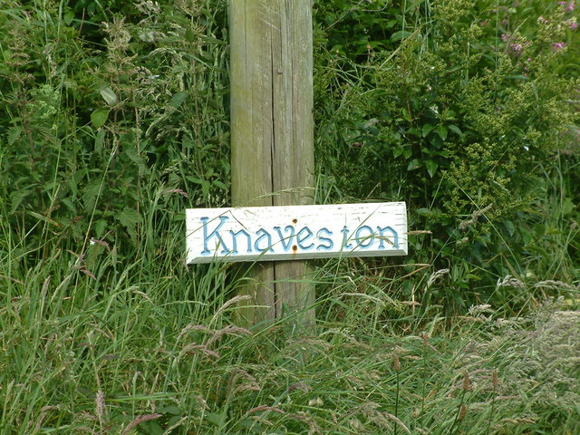 Sign at Knaveston, Nr. Gignog, Pembrokeshire