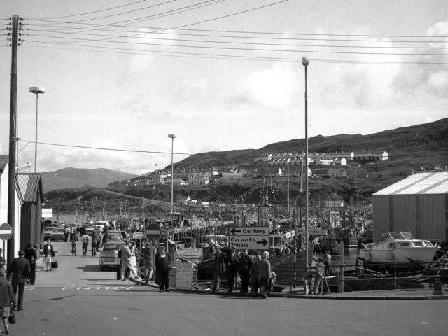 Mallaig: general view outside the station