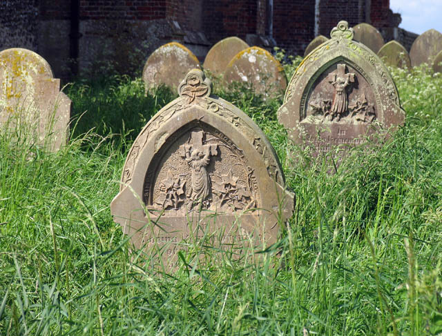 St Mary, East Ruston, Norfolk - Churchyard