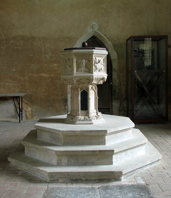 St Mary, East Ruston, Norfolk - Font