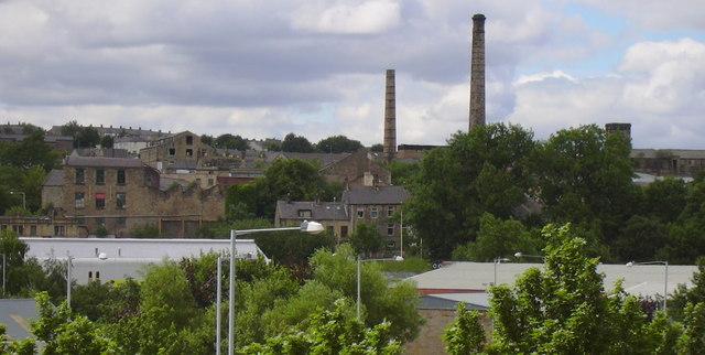 Burnley Mill Chimneys