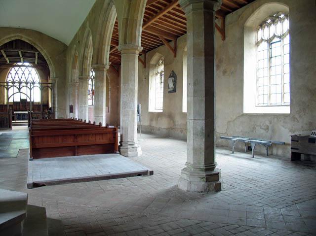 St Mary, East Ruston, Norfolk - South aisle